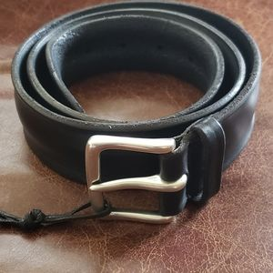 Orciani Lightly Distressed Leather Belt